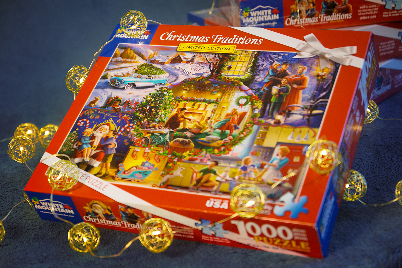 Christmas Traditions puzzle box