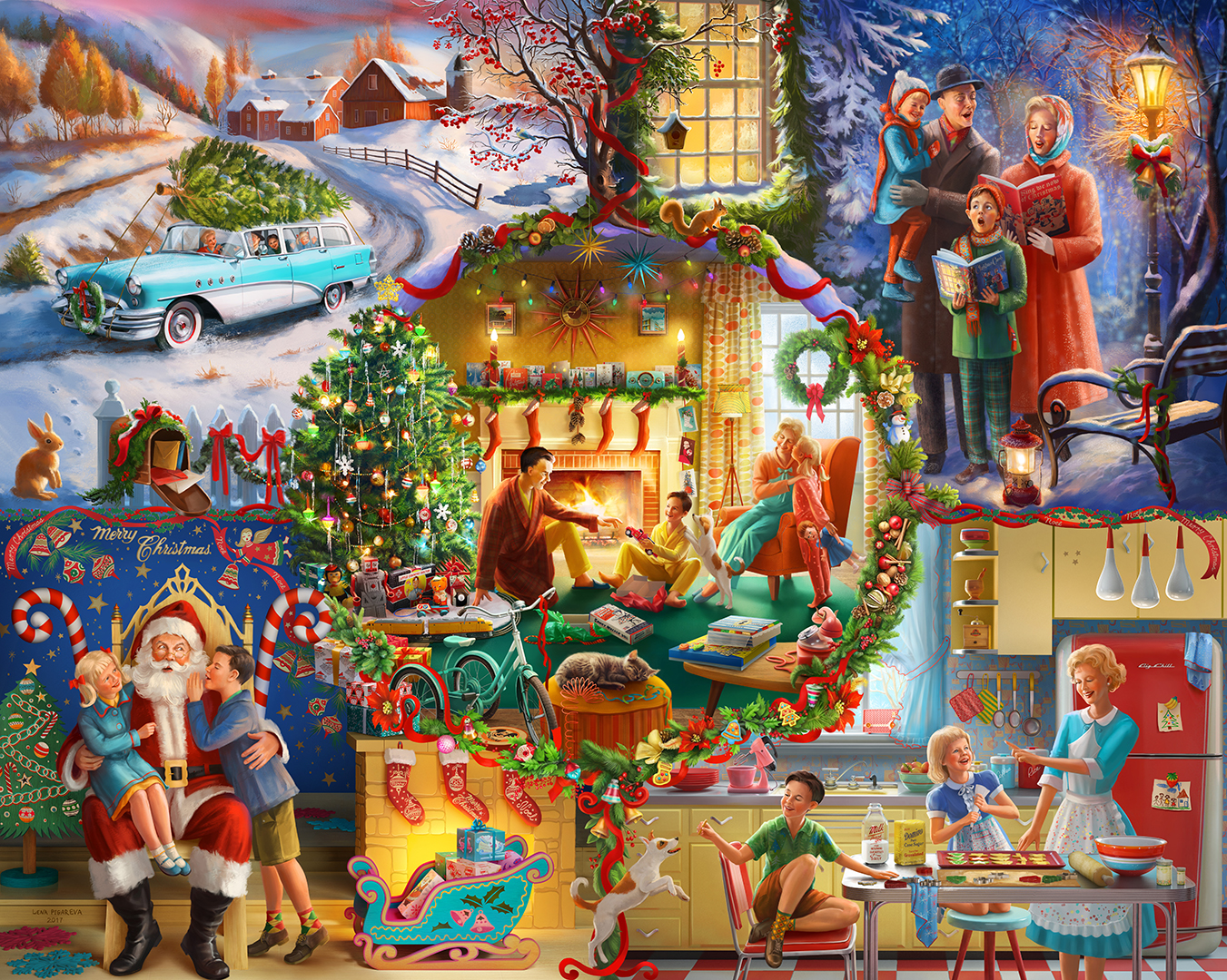Christmas Traditions puzzle