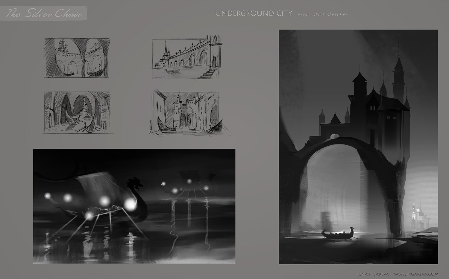 Silver-chair_Undeground-city_exploration-sketches
